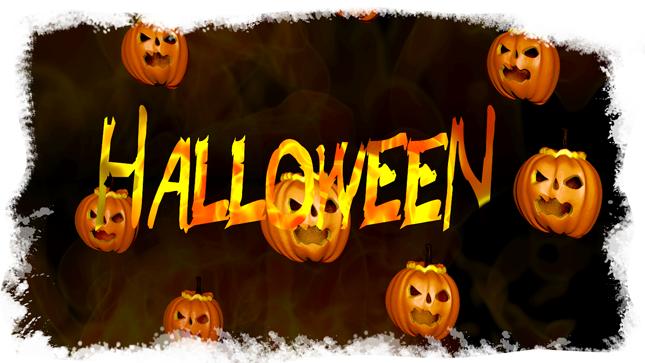 Halloween Blender Fire Short